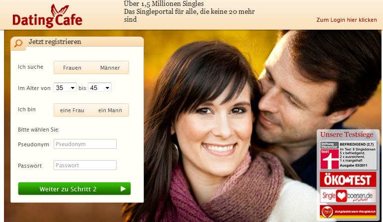Datingcafe Bewertung