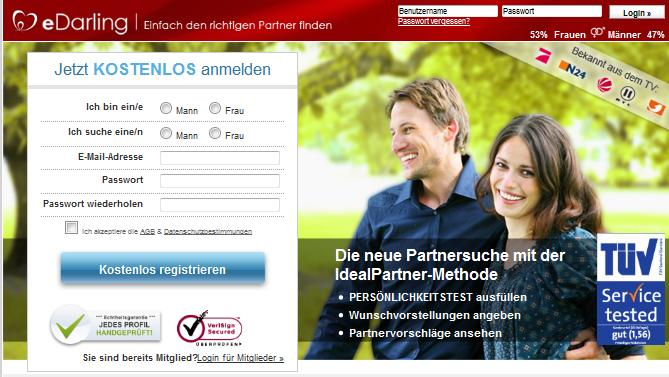 Partnervermittlung darling