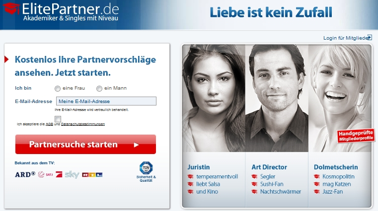 Flirten elitepartner