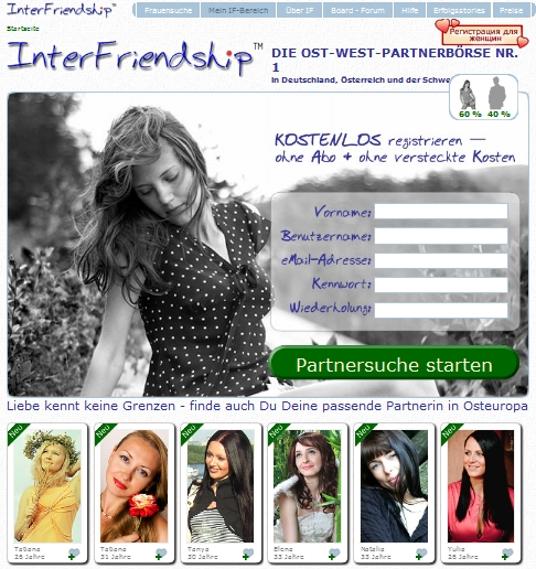Partnervermittlung friendship